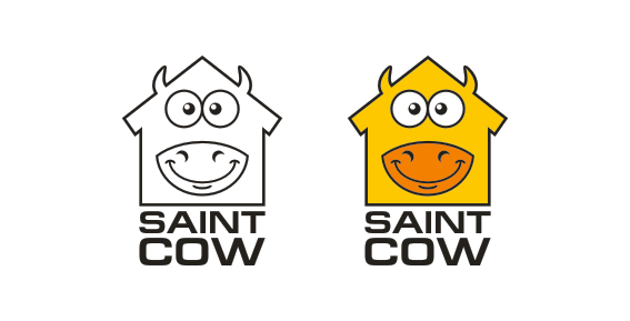 Фирменный стиль для компании Saint Cow фото f_35259c4b529b048c.png