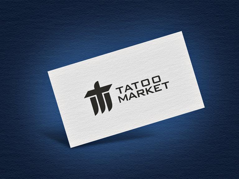 Редизайн логотипа магазина тату оборудования TattooMarket.ru фото f_4475c403e0920e99.jpg