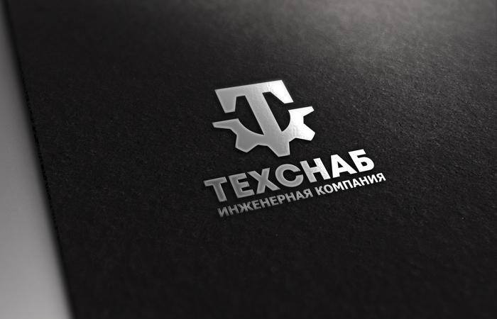 Разработка логотипа и фирм. стиля компании  ТЕХСНАБ фото f_4575b22b0a24328a.jpg