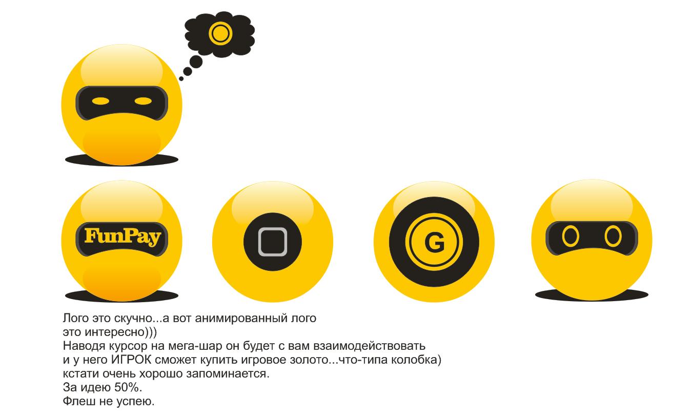 Логотип для FunPay.ru фото f_48359a013da161c1.png