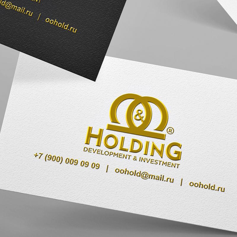 """Разработка Логотипа +  Фирменного знака для компании """"O & O HOLDING"""" фото f_5155c7e62327f3ea.jpg"""