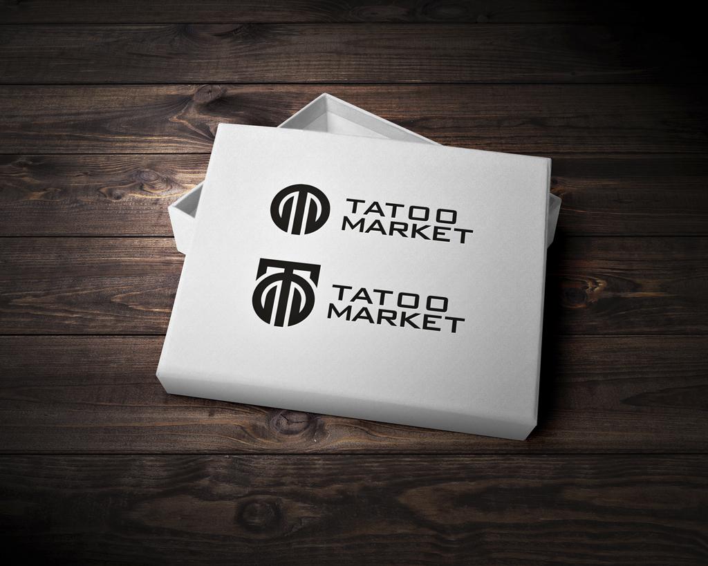 Редизайн логотипа магазина тату оборудования TattooMarket.ru фото f_7185c3f36f508fab.jpg
