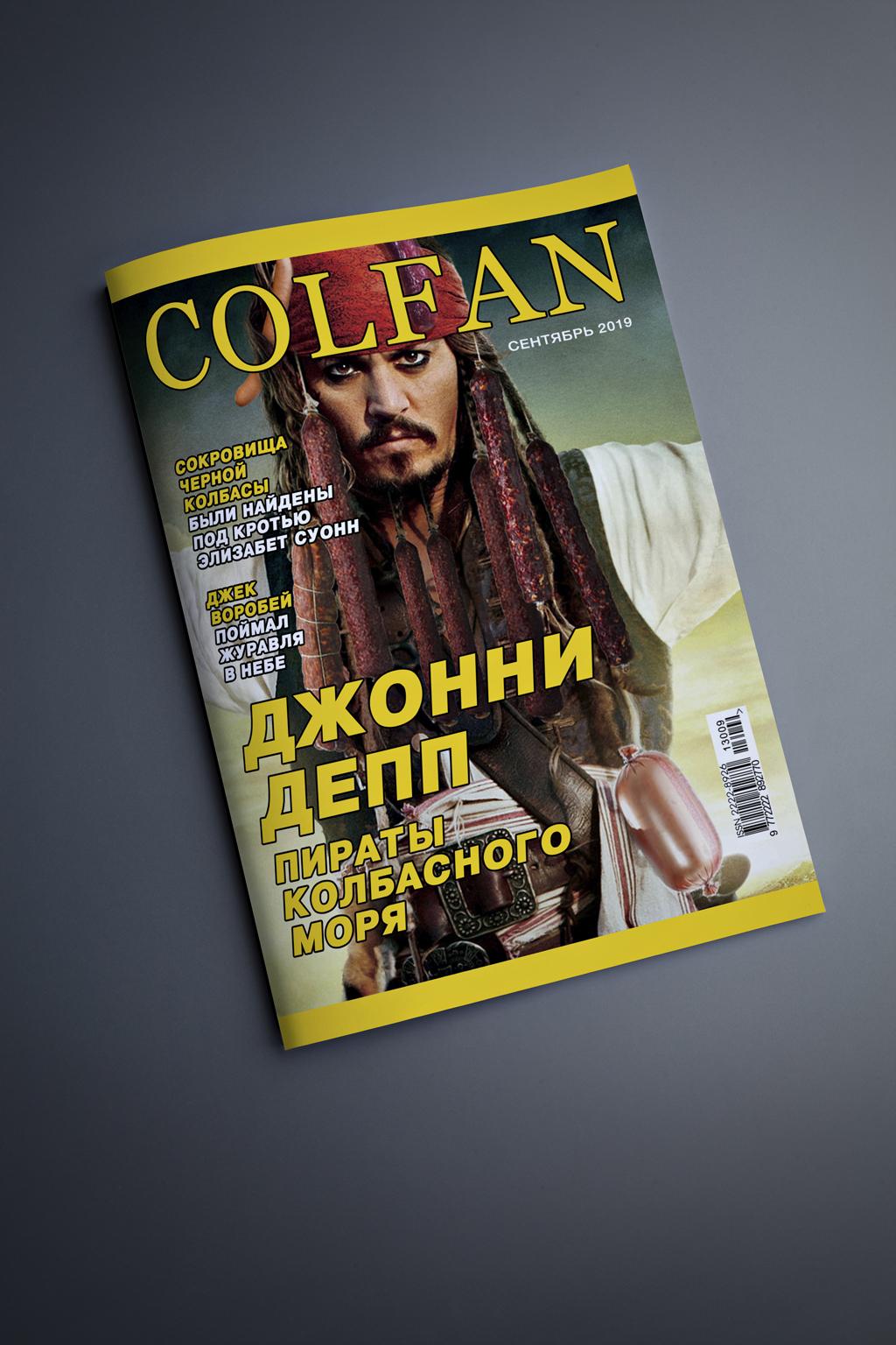 Полиграфический дизайн, Журнальный дизайн, Коллаж.  фото f_7665d715511d367d.jpg
