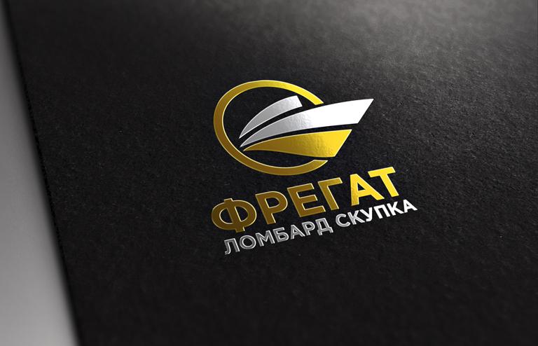 "Логотип, фирменный стиль Ломбард ""Фрегат"" фото f_8445bc067f335b32.jpg"