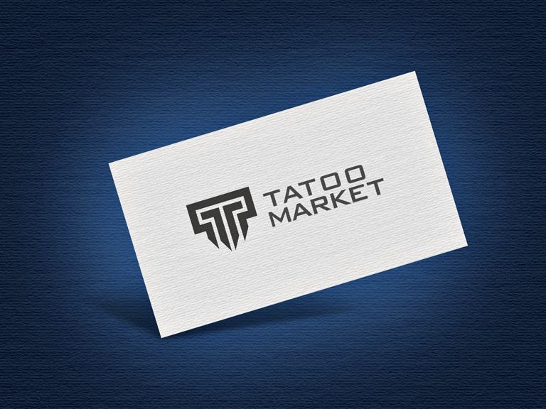 Редизайн логотипа магазина тату оборудования TattooMarket.ru фото f_9955c3f417c79f0b.jpg