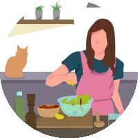Векторные иллюстрации для сайта на различные тематики хобби и занятий (+4 внутри)
