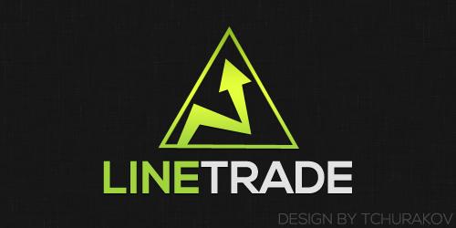 Разработка логотипа компании Line Trade фото f_69350f7a045727db.jpg