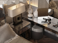 Design of residential and commercial interiors and 3d visualisation / 100m2