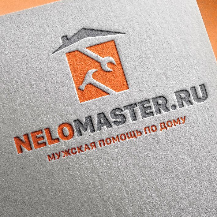 """Логотип сервиса """"Муж на час""""=""""Мужская помощь по дому"""" фото f_0165dc3217f06fa2.jpg"""