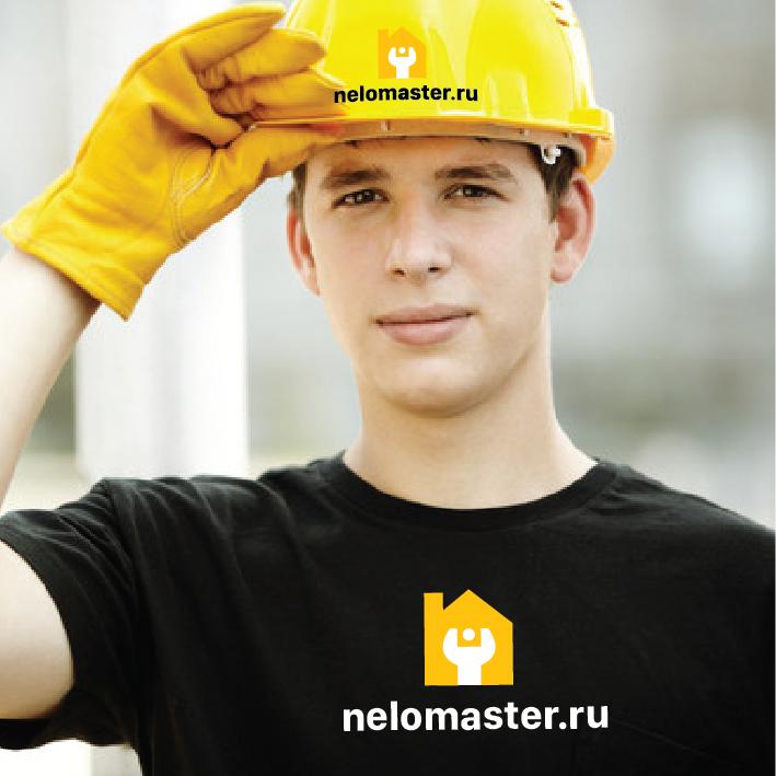 """Логотип сервиса """"Муж на час""""=""""Мужская помощь по дому"""" фото f_9685dc321537f4aa.jpg"""