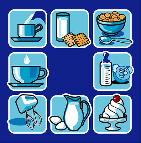 icons - milk