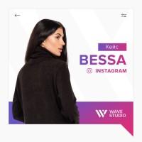 Bessa   Продвижение производителя женской одежды в Instagram