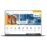 Перевод сайта по производству масел компании AlpineOil на Английский язык.