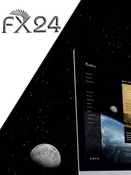 Разработка логотипа компании FX-24 фото f_95954514705108e6.jpg