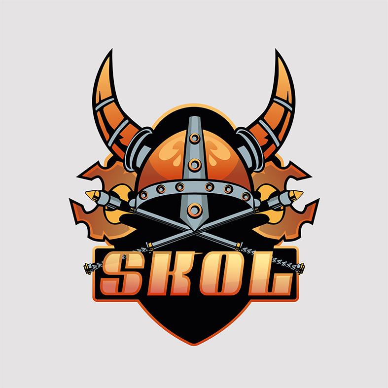 Логотип для букмекерской компании «SKOL»