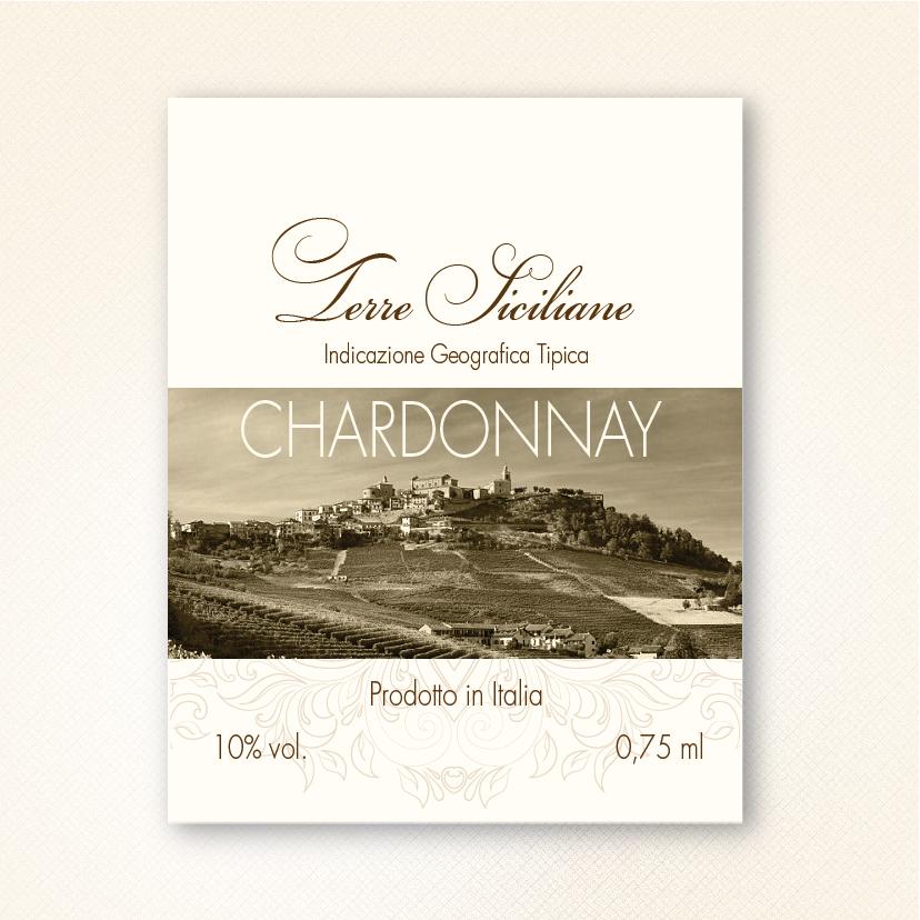 Этикетка на вино «Terre Siciliane»