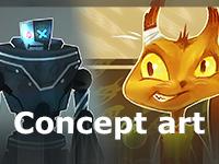 Концепт арт для игр
