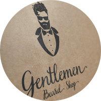 Логотип магазин для джентльменов с бородой