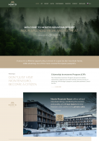 """Montis mountain resort"" . Из HTML  в WP"