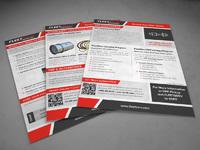 Создание дизайна рекламной листовки