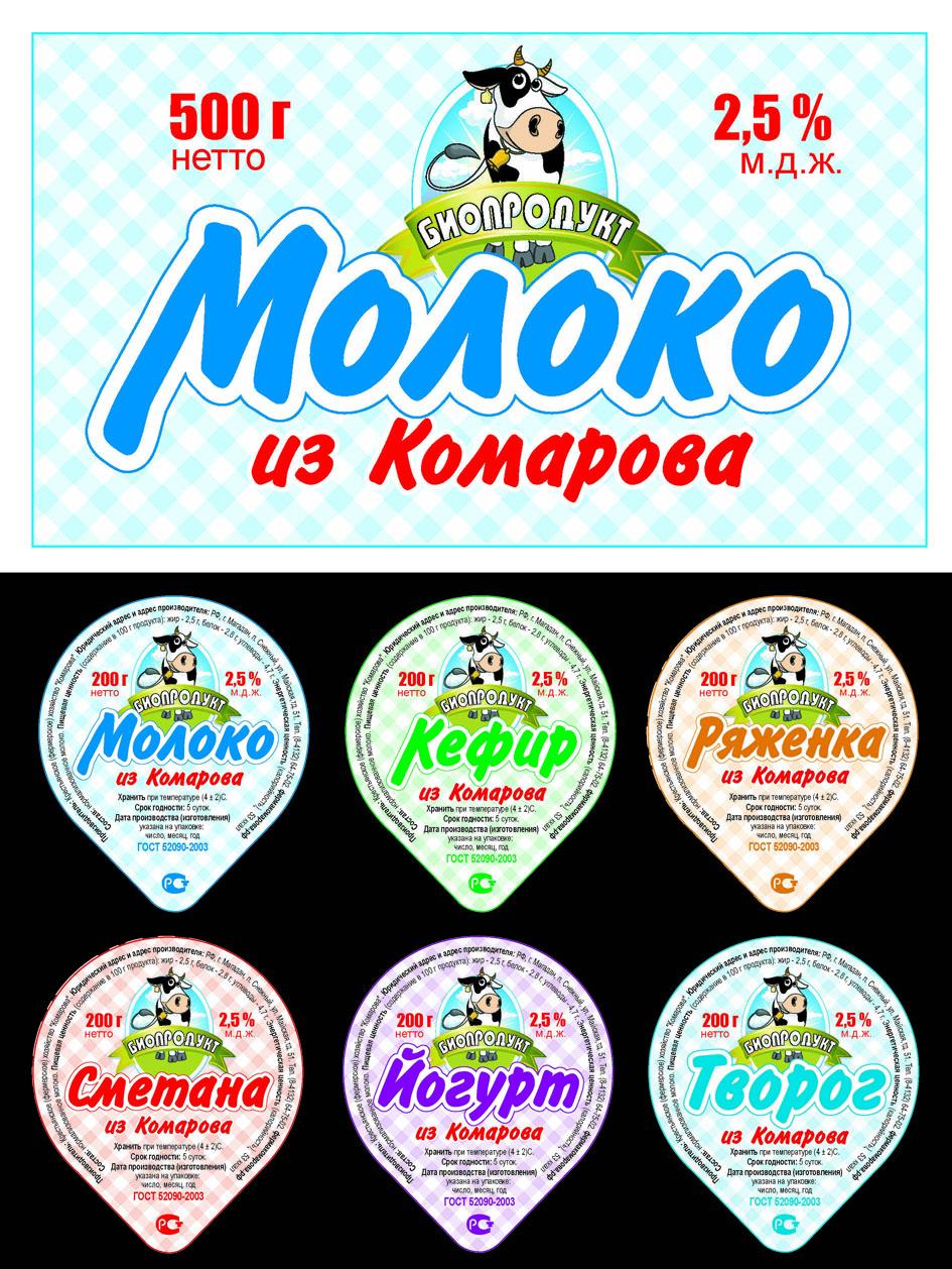 Упаковка молочной продукции