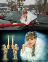 Ретушь свадебной фотографии