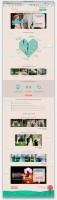 "Landing page для студии декора ""Прованс"""