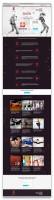 "Landing page для студии танцев ""БонТон"""