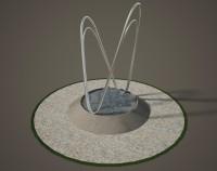 моделирование фонтана