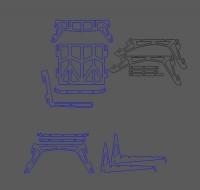 сборная мебель из фанеры, кресло