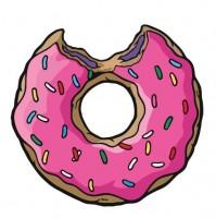 пончик из симпсонов