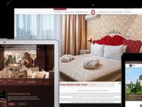 Сайты для гостиниц, домов отдыха, санаториев. Адаптивные.