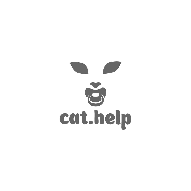 логотип для сайта и группы вк - cat.help фото f_26559da9f55e829a.jpg