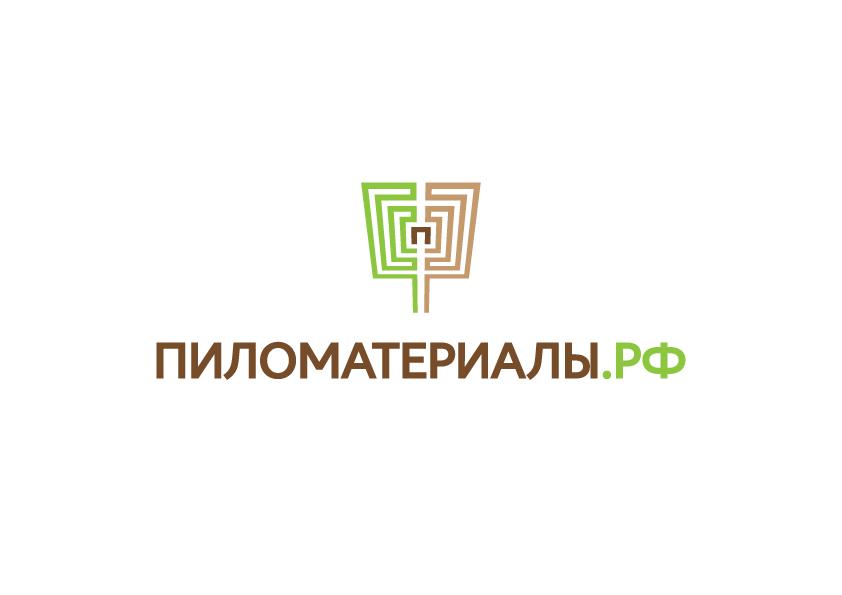 """Создание логотипа и фирменного стиля """"Пиломатериалы.РФ"""" фото f_02153049e15c961f.jpg"""