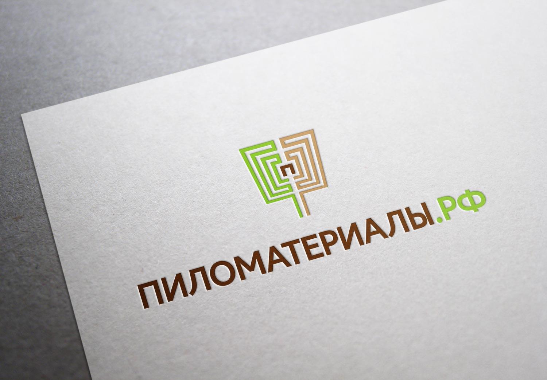 """Создание логотипа и фирменного стиля """"Пиломатериалы.РФ"""" фото f_06553049e1864ea0.jpg"""