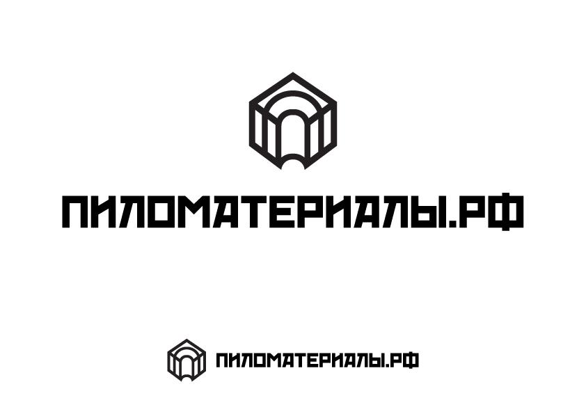 """Создание логотипа и фирменного стиля """"Пиломатериалы.РФ"""" фото f_580530d13450dc6f.jpg"""