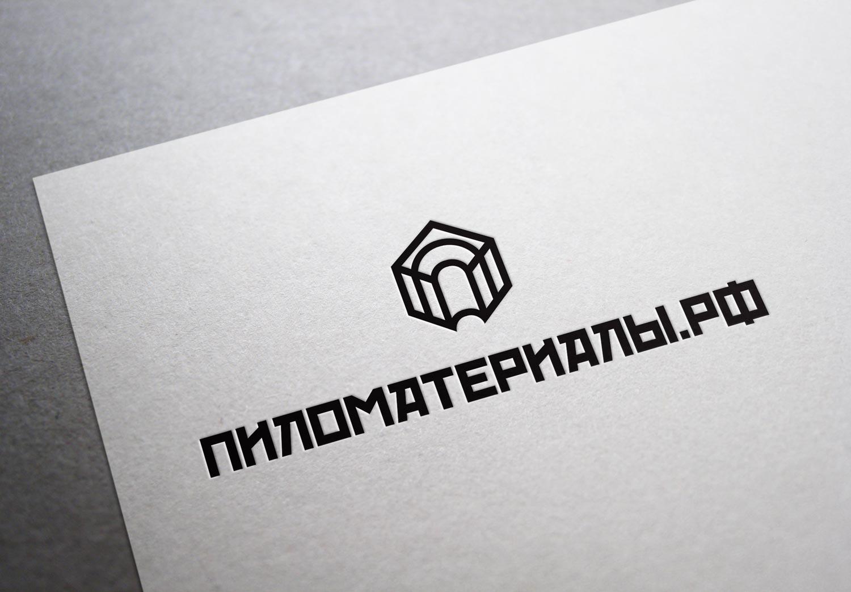"""Создание логотипа и фирменного стиля """"Пиломатериалы.РФ"""" фото f_774530d13473fa19.jpg"""