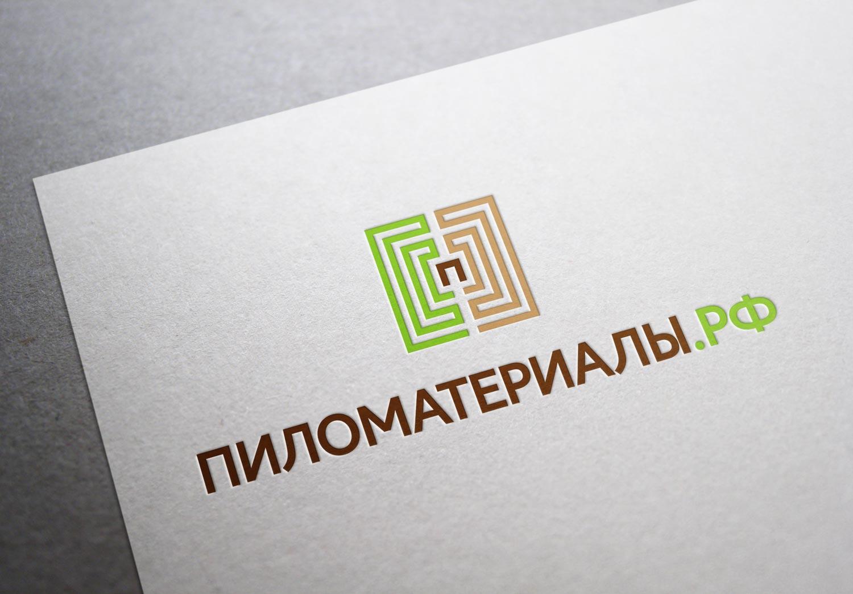 """Создание логотипа и фирменного стиля """"Пиломатериалы.РФ"""" фото f_83353049edc72042.jpg"""