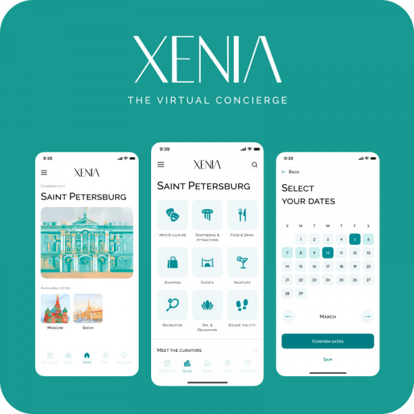 Xenia – The virtual concierge