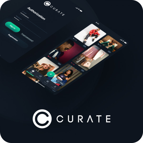 Curate — Мобильное приложение
