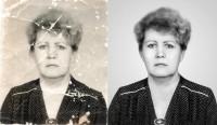 Восстановление поврежденной фотографии