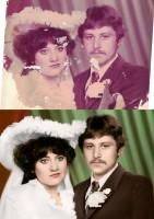 Реставрация фотографии, восстановление цвета