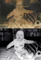 Цветокоррекция фотографии, реставрация и замена фона