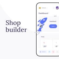 Shop Builder Dashboard mobile