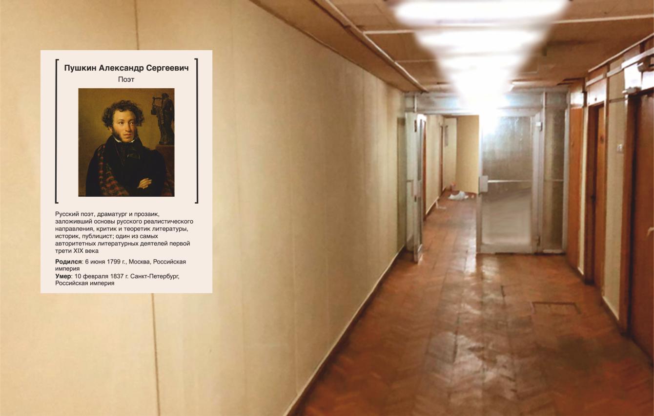 Предложить идею оформления портретов (с информацией) на стене фото f_4755e1a32adaf3a6.png