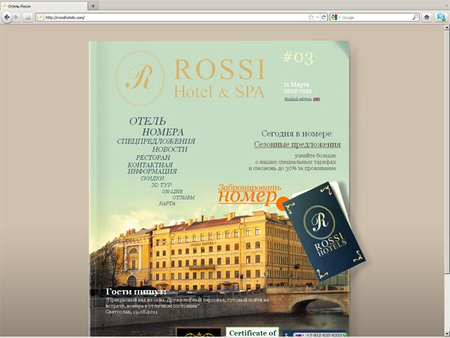 rossihotels.com