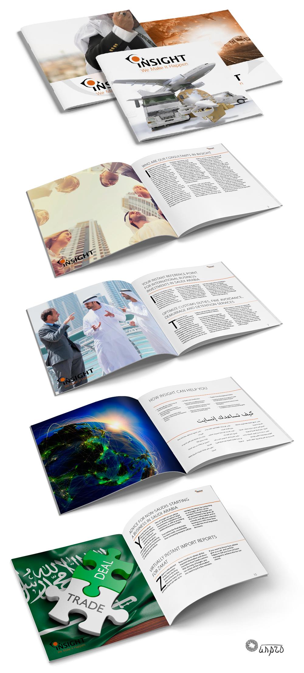 Брошюра Insight (арабский+английский)