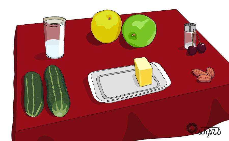 Еда с вашего стола...