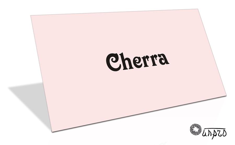 Нейминг: Cherra