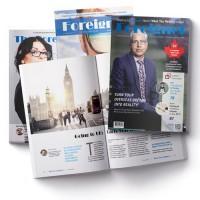 Журнал для эмигрантов Foreigner